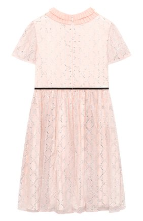 Детское шелковое платье GUCCI розового цвета, арт. 624709/ZAE5D   Фото 2