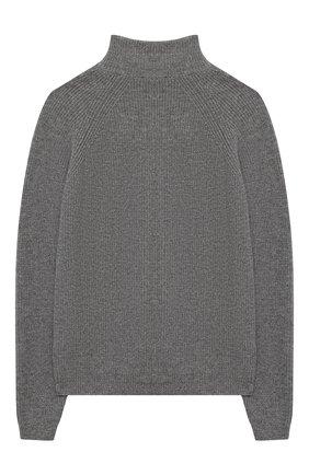 Детский шерстяной кардиган DAL LAGO серого цвета, арт. W528/8927/7-12   Фото 2