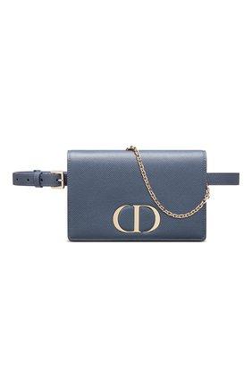 Женская поясная сумка 30 montaigne DIOR синего цвета, арт. S2086OBAEM94B   Фото 1