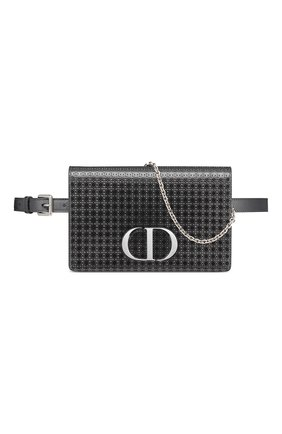Женская поясная сумка 30 montaigne DIOR черного цвета, арт. S2086PSKCM76K   Фото 1