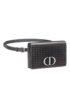 Женская поясная сумка 30 montaigne DIOR черного цвета, арт. S2086PSKCM76K   Фото 2