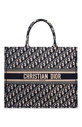 Женский сумка dior book tote DIOR синего цвета, арт. M1286ZRIWM928   Фото 1