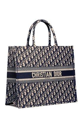 Женский сумка dior book tote DIOR синего цвета, арт. M1286ZRIWM928   Фото 2