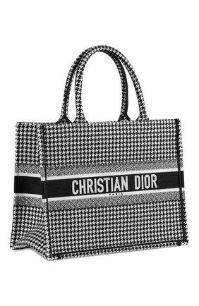 Женский сумка dior book tote DIOR черно-белого цвета, арт. M1296ZRPIM081 | Фото 2