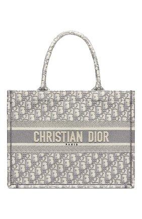 Женский сумка dior book tote DIOR серого цвета, арт. M1296ZRIWM932 | Фото 1