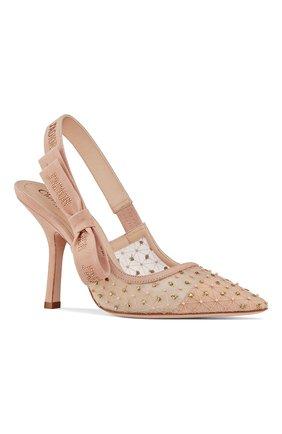Текстильные туфли J'Adior | Фото №2