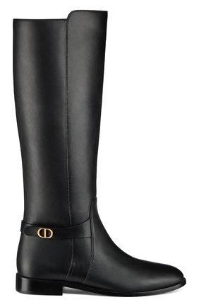 Кожаные сапоги Dior Empreinte | Фото №1