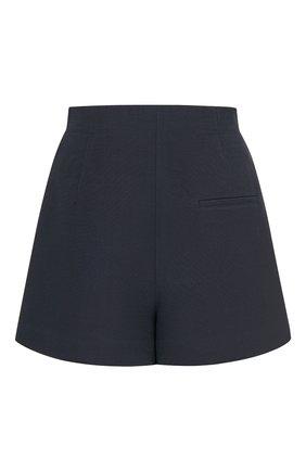Женские шорты из шерсти и шелка DIOR темно-синего цвета, арт. 041P45A1166X5645 | Фото 2