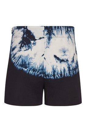 Женские хлопковые шорты DIOR темно-синего цвета, арт. 041P48A3890X9608 | Фото 2