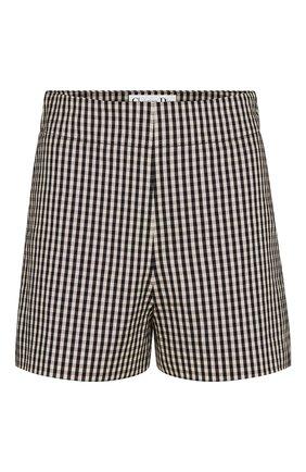 Женские шорты DIOR черно-белого цвета, арт. 041P48A6631X9319 | Фото 1