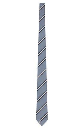 Мужской шелковый галстук DIOR серого цвета, арт. 01C1047A0256C880 | Фото 1
