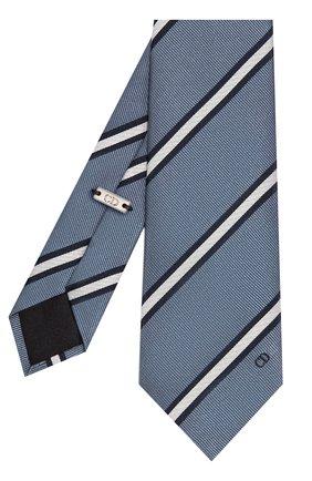 Мужской шелковый галстук DIOR серого цвета, арт. 01C1047A0256C880 | Фото 2