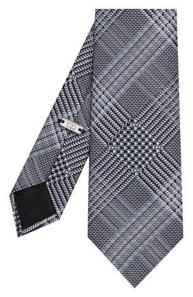 Мужской шелковый галстук DIOR серого цвета, арт. 03C1047A0332C588 | Фото 2