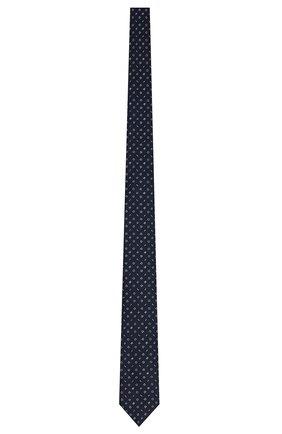 Мужской шелковый галстук DIOR синего цвета, арт. 03C1047A0348C585 | Фото 1