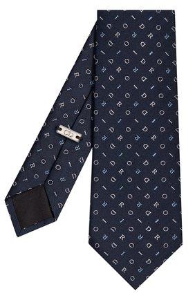 Мужской шелковый галстук DIOR синего цвета, арт. 03C1047A0348C585 | Фото 2