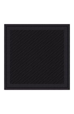 Мужской шелковый платок DIOR черного цвета, арт. 03P1040A0331C900 | Фото 1