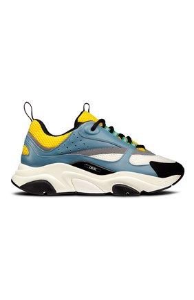 Мужские комбинированные кроссовки b22 DIOR разноцветного цвета, арт. 3SN231ZCQH561 | Фото 1