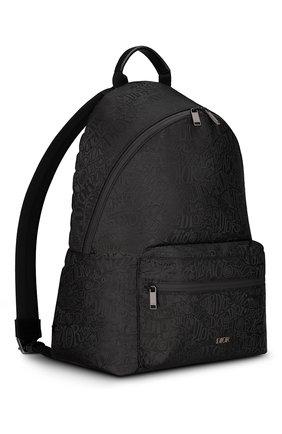 Мужской текстильный рюкзак rider DIOR черного цвета, арт. 1PEBA064YZTH00N   Фото 2