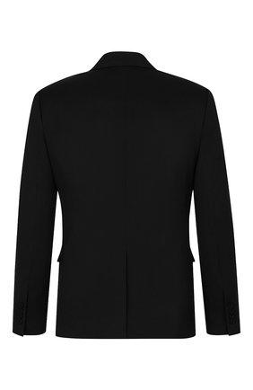 Мужской шерстяной пиджак DIOR черного цвета, арт. 923C201H4739C900 | Фото 2