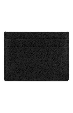 Мужской кожаный футляр для кредитных карт DIOR черного цвета, арт. 2PUCH001PASH29E | Фото 2