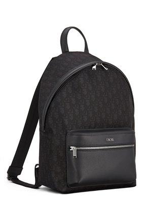 Мужской комбинированный рюкзак rider DIOR черного цвета, арт. 1PEBA088YPNH10E | Фото 2