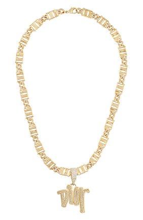 Мужского цепь с кулоном DIOR золотого цвета, арт. N1180HOMMTD300   Фото 1
