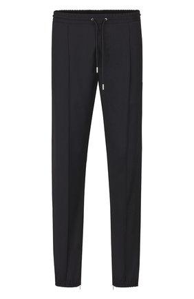 Мужской шерстяные брюки DIOR черного цвета, арт. 733C138E3226C900 | Фото 1