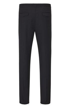 Мужской шерстяные брюки DIOR черного цвета, арт. 733C138E3226C900 | Фото 2