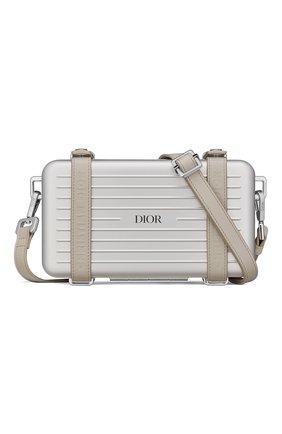 Мужская сумка dior x rimowa DIOR бежевого цвета, арт. 2DRCA295YWTH31E   Фото 1