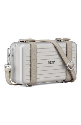 Мужская сумка dior x rimowa DIOR бежевого цвета, арт. 2DRCA295YWTH31E   Фото 2