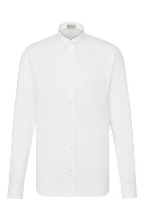 Мужская хлопковая сорочка DIOR белого цвета, арт. 013C530A4910C000 | Фото 1