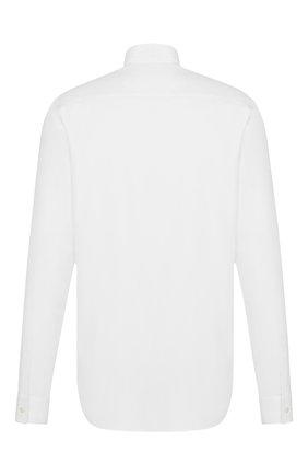 Мужская хлопковая сорочка DIOR белого цвета, арт. 013C530A4910C000 | Фото 2
