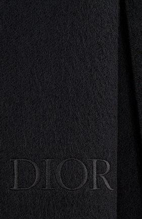 Мужской кашемировый шарф dior oblique DIOR черного цвета, арт. 03E0005A0336C989 | Фото 2