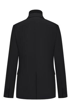 Мужской шерстяной пиджак DIOR черного цвета, арт. 033C212A4739C900 | Фото 2
