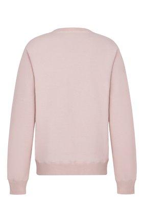 Мужской хлопковый свитшот DIOR розового цвета, арт. 033J604B0531C400 | Фото 2