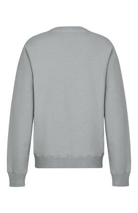 Мужской хлопковый свитшот DIOR серого цвета, арт. 033J604B0531C800 | Фото 2