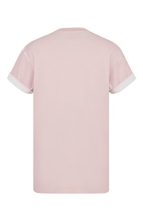Мужская хлопковая футболка DIOR розового цвета, арт. 033J625E0554C400 | Фото 2