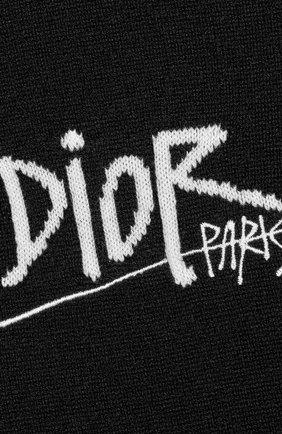 Мужской кашемировый джемпер DIOR черного цвета, арт. 033M609AT070C980 | Фото 2