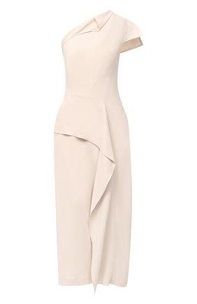 Женское платье ROLAND MOURET светло-бежевого цвета, арт. PW20/S0951/F2241   Фото 1