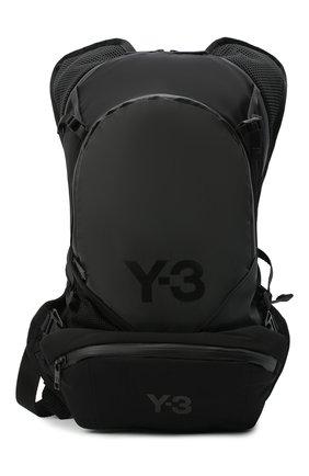 Мужской текстильный рюкзак Y-3 черного цвета, арт. GK2103/M | Фото 1