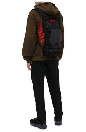 Мужской текстильный рюкзак Y-3 черного цвета, арт. GK2103/M | Фото 2