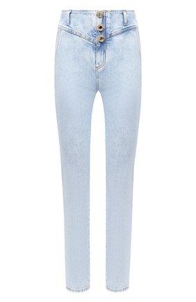 Женские джинсы ALESSANDRA RICH голубого цвета, арт. FAB2257-F3041   Фото 1