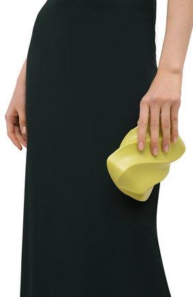 Женский клатч bv whirl BOTTEGA VENETA светло-зеленого цвета, арт. 639332/VA9A0 | Фото 2