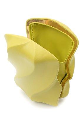 Женский клатч bv whirl BOTTEGA VENETA светло-зеленого цвета, арт. 639332/VA9A0 | Фото 4