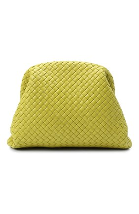Женский клатч pouch BOTTEGA VENETA светло-зеленого цвета, арт. 639296/V01D0 | Фото 1
