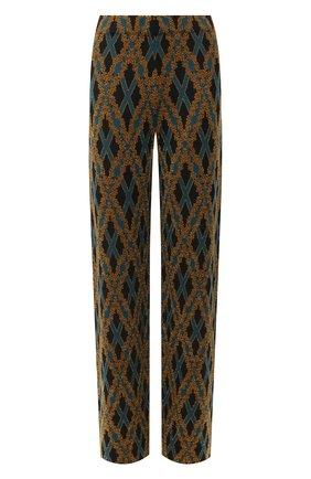 Женские брюки DRIES VAN NOTEN черного цвета, арт. 202-11212-1715   Фото 1