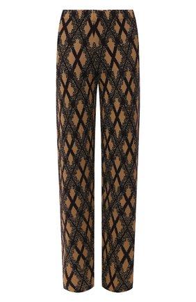 Женские брюки DRIES VAN NOTEN светло-коричневого цвета, арт. 202-11212-1715 | Фото 1