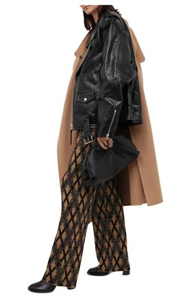 Женские брюки DRIES VAN NOTEN светло-коричневого цвета, арт. 202-11212-1715 | Фото 2