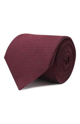 Мужской шелковый галстук CORNELIANI красного цвета, арт. 86U302-0820305/00   Фото 1