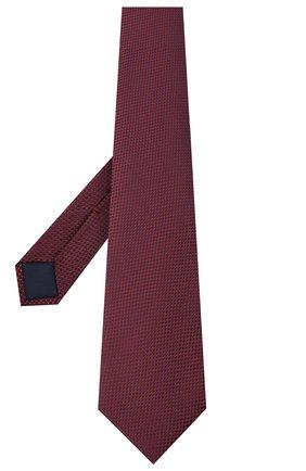 Мужской шелковый галстук CORNELIANI красного цвета, арт. 86U302-0820305/00   Фото 2